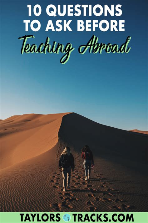 Before You Teach English Abroad, Ask Yourself These 10 ...