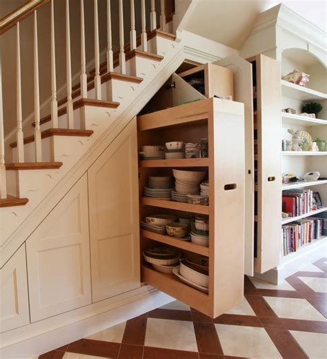 12 Storage Ideas For Under Stairs  Design*sponge