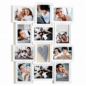 Bilderrahmen Weiß Mehrere Bilder : euratio wandgalerierahmen wei 12 bilder 13 x 18 cm bauhaus ~ Bigdaddyawards.com Haus und Dekorationen