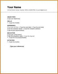 basic resume layout australia australian resume templates for students with no work experience bestsellerbookdb