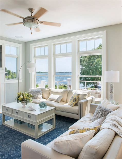 Cape Style Home Decorated Classic Color And Pattern by Rhode Island Cottage Living Room Home Is Where