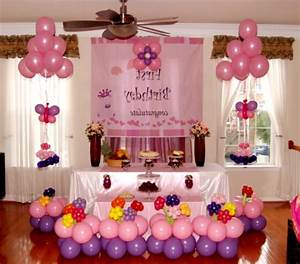 1st Birthday Decoration Ideas At Home For Party Favor