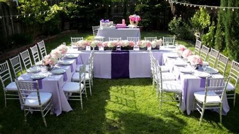 modern backyard backyard wedding ideas   budget