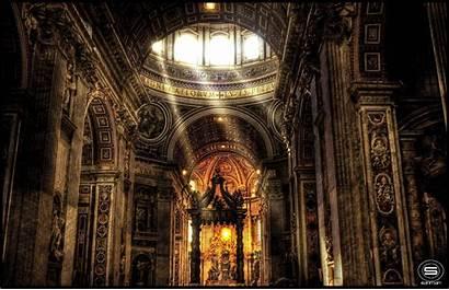 Vatican Inside Wallpapers Catholic Church Desktop Cave