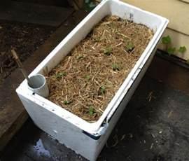 diy self watering planter box the handy gardener