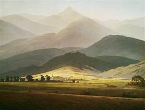 Caspar David Friedrich Romantik : kunst tapete berglandschaft caspar d friedrich tapeterie ~ Frokenaadalensverden.com Haus und Dekorationen