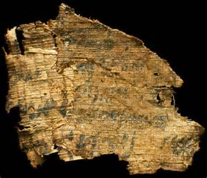 Ancient Egyptian Papyrus Scroll