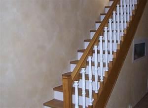 travaux renovation decoration yonne photo interieur With deco cage escalier interieur