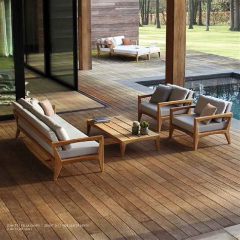 teak patio furniture covers royal botania zenhit teak garden lounge furniture highest