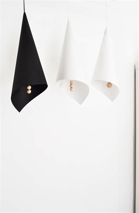 comment fabriquer un abat jour avec du papier et des perles en bois bricobistro