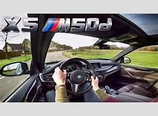 BMW X5 2017 M50d Test Drive & Interior Sound YouTube