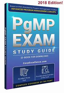 Pgmp Certification Exam Study Guide  Download E