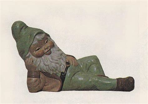 wrinkle bottoms small sleeping gnome unpainted ceramic