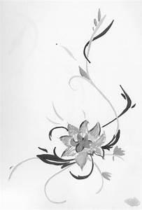Dessin Fleur De Cerisier Japonais Noir Et Blanc : fleur de fil en aiguille ~ Melissatoandfro.com Idées de Décoration