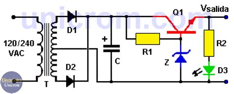 circuito regulador de voltaje v regulador con diodo zener teor 237 a y pr 225 ctica como