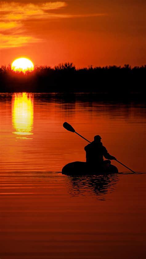 River Beautiful Evening Sunset Wallpapers - 720x1280 - 165998
