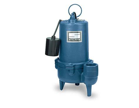 Sta-rite Sewage Pump, Cast Iron, 1/2 Hp Or 3