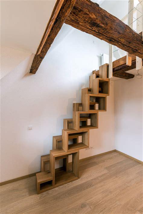 wohnideen treppenaufgang