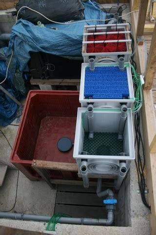 filtration pour bac de quarantaine ou petit bassin