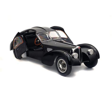 Presented at the 2019 geneva motorshow, the. BUGATTI TYPE 57 SC ATLANTIC - BLACK - 1937 - Solido