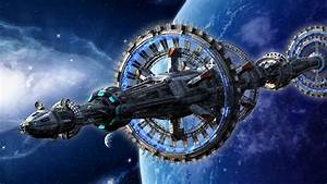 Spaceship Futuristic Space Digital Artwork Hd Wallpapers