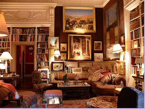 Home Library Design 17- Victorian & Modern In The Same