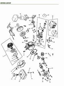 Honda Gx240 Gx270 Gx340 Gx390 Engine 3 Manual Set Service Repair Workshop Manual Download