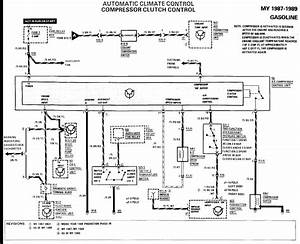 Mercedes 230e 124 Ch 1992 No Power To Ac Clutch From Relay 12v To High Low Cut Out With Ac Off
