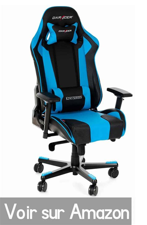 chaise gamer pc chaise gamer com fauteuil gamer 50 meilleures chaises