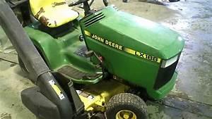 Lot 1378a John Deere Lx 188 Lawn Tractor 48 U0026quot  Deck W