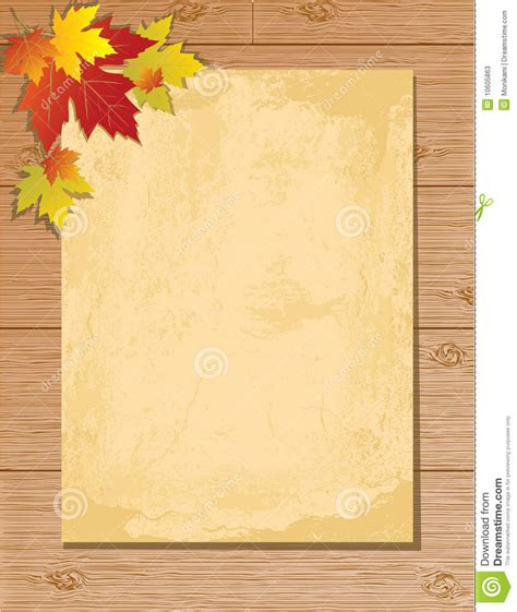 Letter Background Images by Paper Letter On Wooden Background Stock Illustration