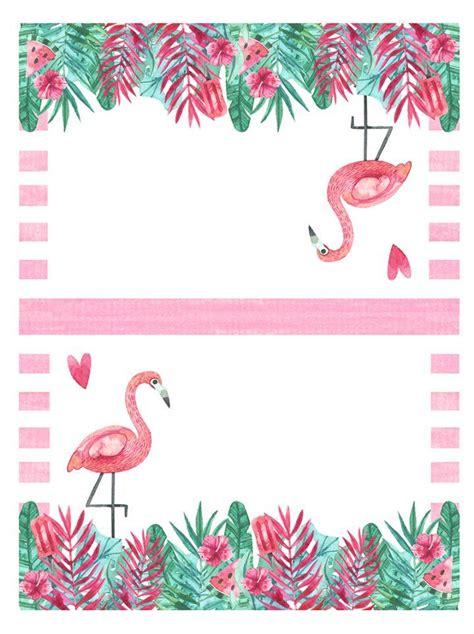 printable flamingo party pack fiestas flamingos