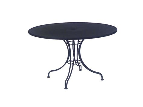 woodard wrought iron 42 patio bistro table with