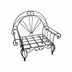 Fauteuil Fer Forgé : fauteuil feuille en fer forg ~ Melissatoandfro.com Idées de Décoration