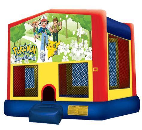 pokemon bounce house bb bounce houses jumper rentals