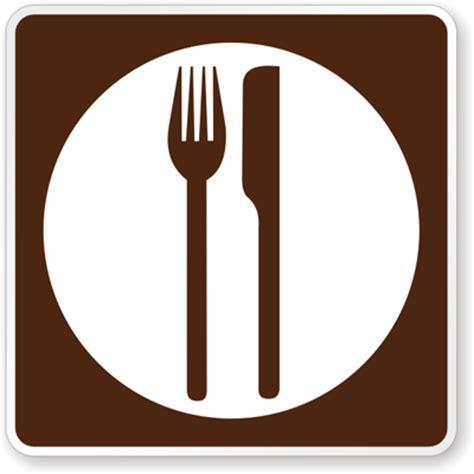 cuisine plaque motorist services sign food symbol rm 050 sku x rm 050