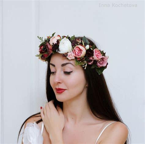 wedding flower headbands ideas  pinterest diy