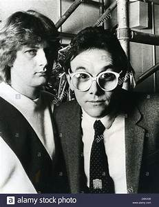 THE BUGGLES Promotional photo of UK vocal duo of Geoff ...