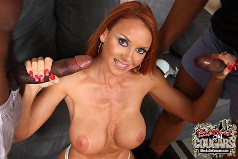 busty redhead cougar janet mason gets banged by horny blacks pichunter