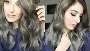 Grau Silber Haare : haare grau f rben mit olaplex beautylovin youtube ~ Frokenaadalensverden.com Haus und Dekorationen