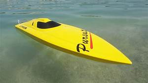 Pursuit Brushless - V-hull Fiberglass Rc Boat