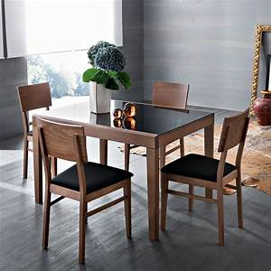 49 best salle a manger images on pinterest dining With salle À manger contemporaineavec chaise hetre salle manger