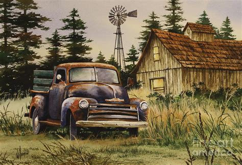classic country painting  james williamson