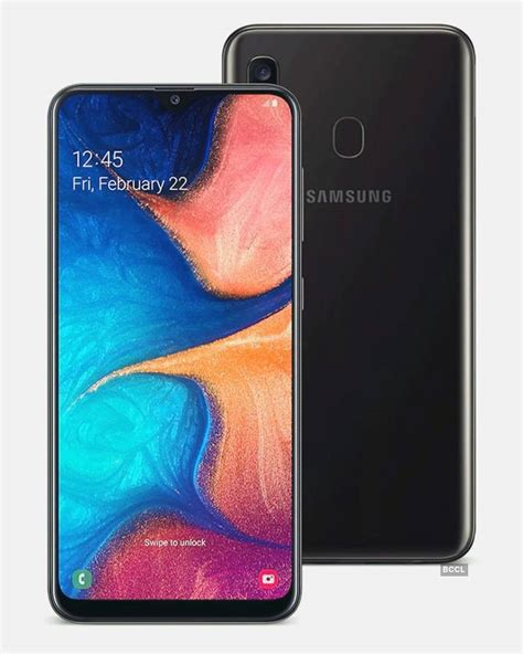 samsung launches galaxy a20 in india photogallery times of india