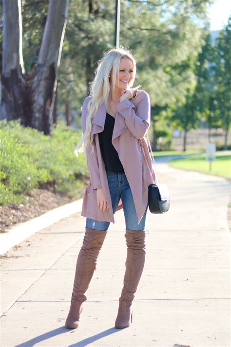 MAUVE DUSTER JACKET - all jessed up
