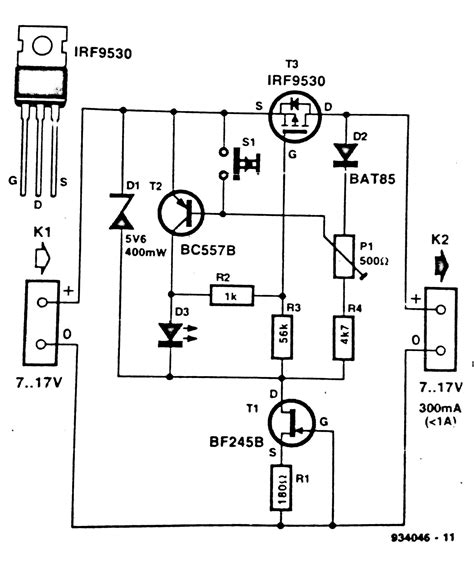 Electronic Fuse Circuit Diagram Diagramz
