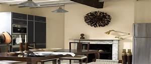 Peinture Murale Couleur : 11 couleurs cuisine avec une peinture murale tendance ~ Melissatoandfro.com Idées de Décoration