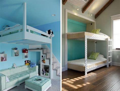 chambre enfant lit mezzanine le lit mezzanine dcoration chambre enfant dco bb cadeaux de