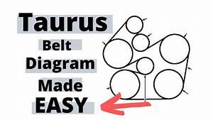 25 2003 Ford Taurus Serpentine Belt Diagram