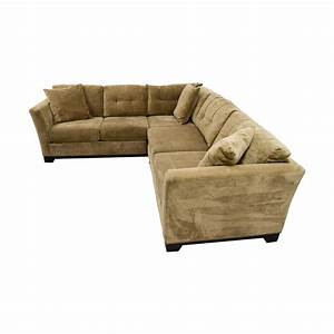 76 off macy39s macy39s elliot fabric microfiber two piece With elliot fabric microfiber 2 piece sectional sofa